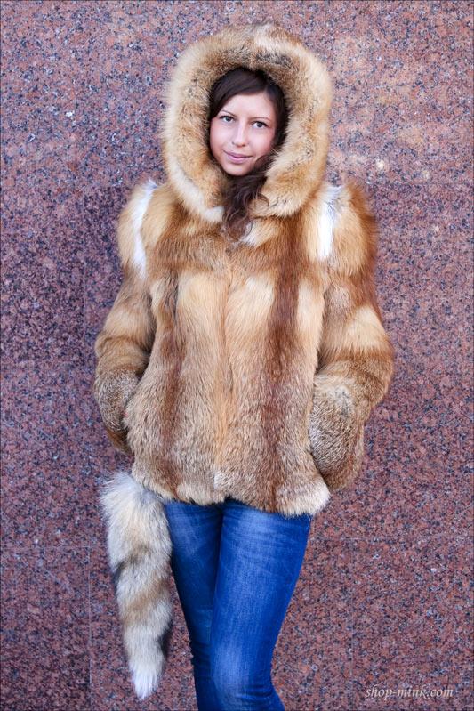 Санкт-петербург шуба из лисы